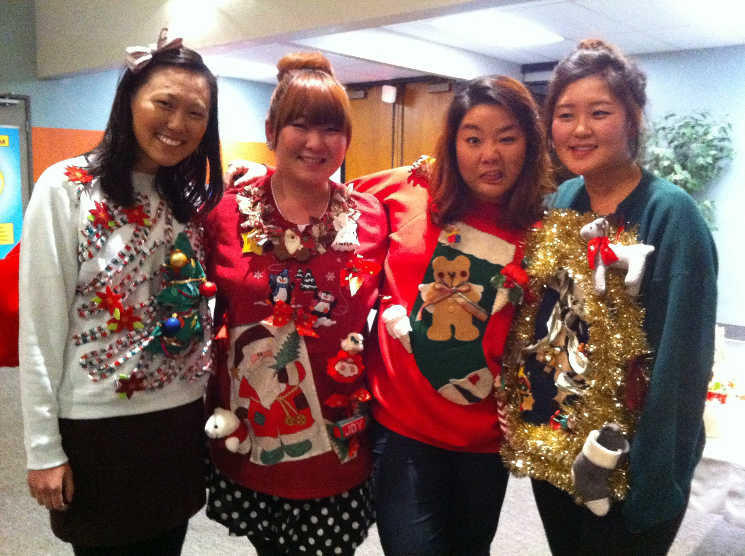 1 the ugly sweater party