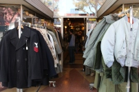 Vintage military clothes.