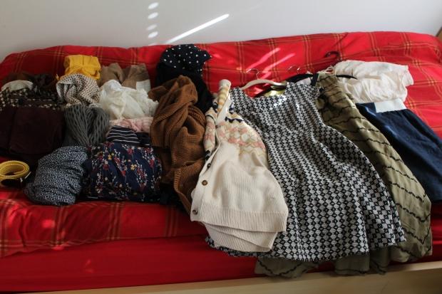 Chelsea's Clothes.