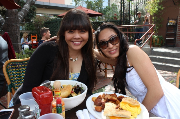 Julie & Nicole at Alcove.