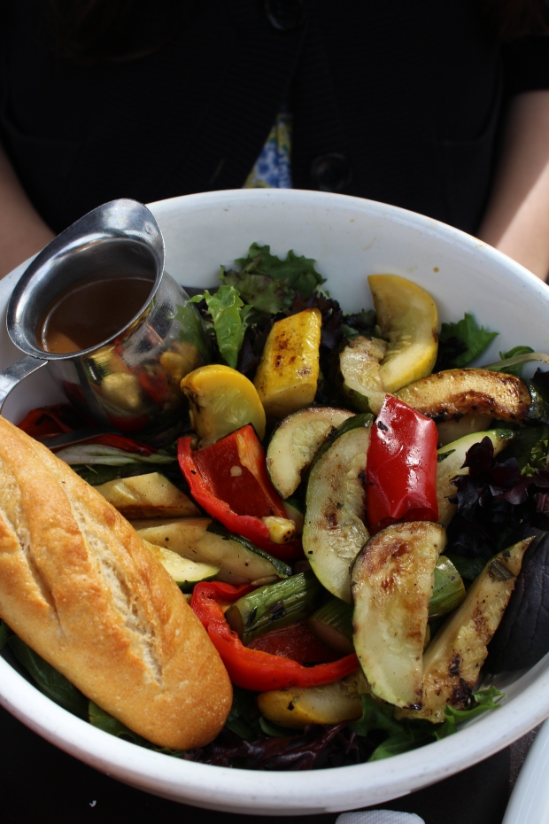 Grilled Vegetable Salad.