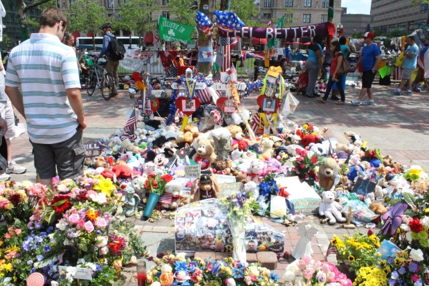 Boston Marathon Memorial Site