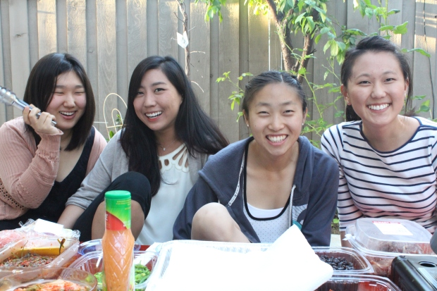 Left to Right: Dasom, Elaine, Sarah, Tina