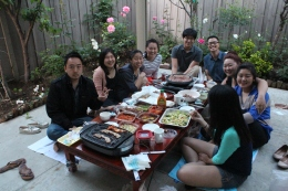 Left to Right Clockwise: Stanley, Dasom, Sarah, Tina, Shawn, Daniel, Linda, Michelle, Stacy