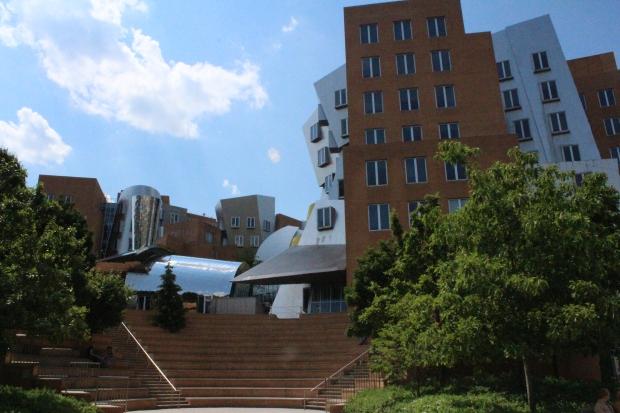 Perhaps, MIT's amphitheater.