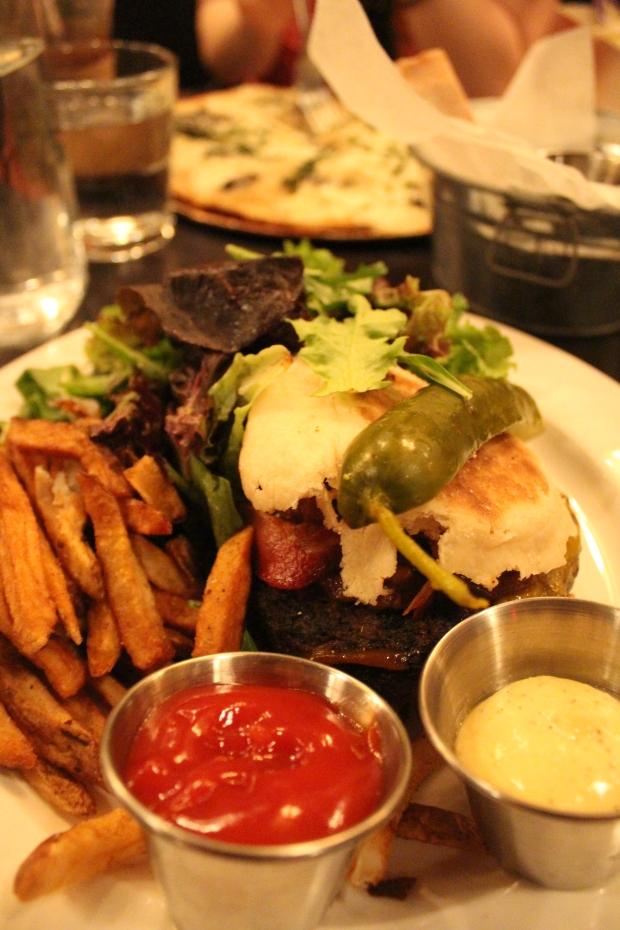 Bacon cheeseburger at Russell House Tavern.