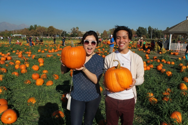 Jo, Phil, & Pumpkins.