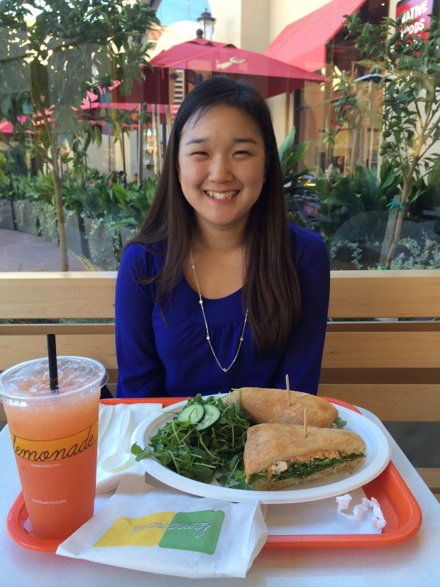 Hannah at Lemonade!