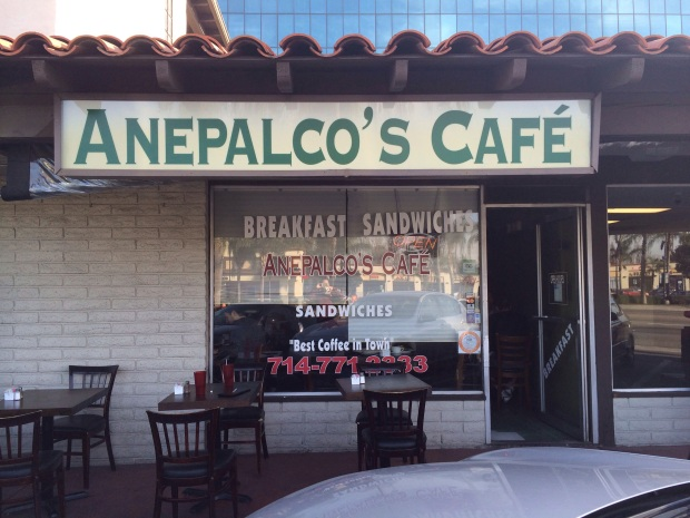 Front of Anepalco's Cafe