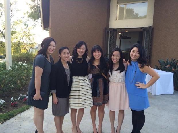 L to R: Linda, Sarah, Me, Yesie, Briana, & Esther