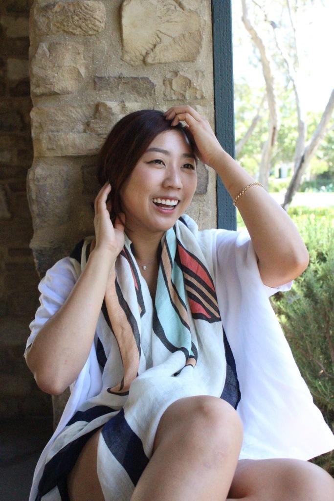 Model: Elaine Kim | Tina Talks Today